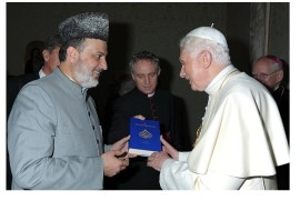 Pope and the Holy Quran
